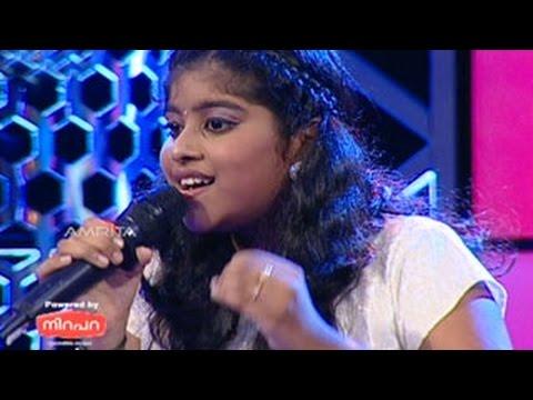 Sreelekshmi Singing - baiyan na dharo o balma from Album - Dastak in Super Star Junior- 5