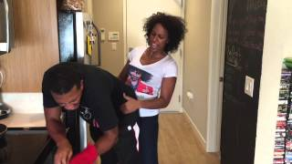 Quick Laughs: Games I play with Bae , in the kitchen