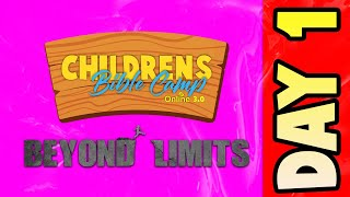 Childrens Bible Camp 3.0 - DAY 1 |  VBS online (2021)