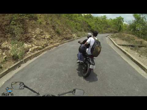 Biker's ride from Jamshedpur to Ayodhya hills(West Bengal) shot by GoPro