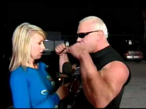 Scott Steiner & Tomko Arrive At The Pay Per View
