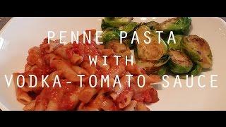 Penne Pasta With A Vodka-tomato Sauce (take My Veganity) - Vegan Recipe