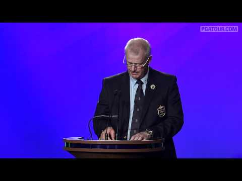 Sandy Lyle - 2012 World Golf Hall of Fame