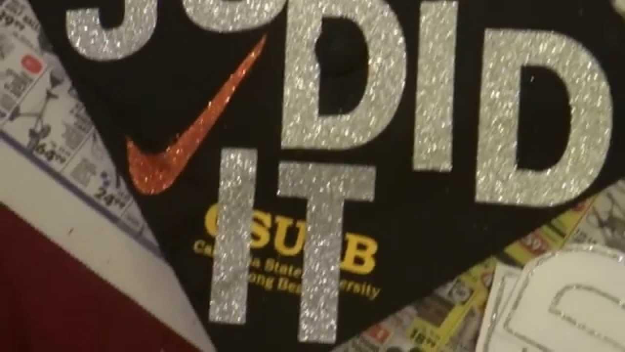Diy Graduation Cap Youtube