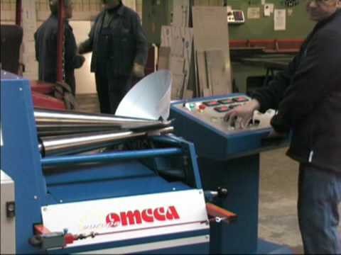 Omcca Small Dia Cone 550x2 Mm Plate Roll Bending By Ad