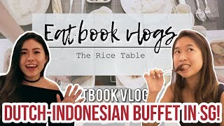 14-Course Dutch-Indonesian Buffet for $18.95 NETT - The Rice Table   Eatbook Vlogs   EP 30