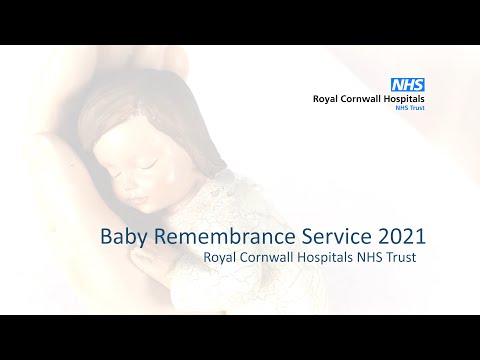 YouTube post - Royal Cornwall Hospitals NHS Trust Baby Remembrance Service 2021