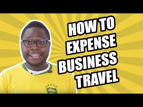 How to Expense Business Travel