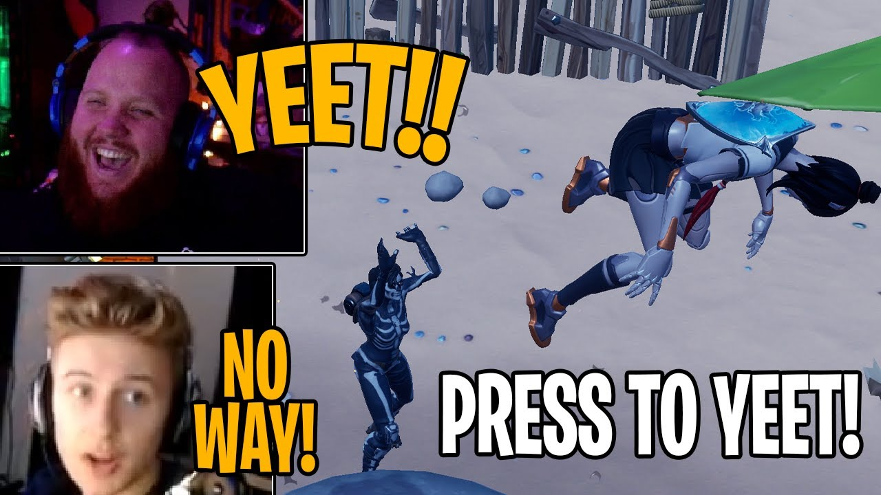 Fortnite Chapter 2 Best Yeet Moments Throwing Players