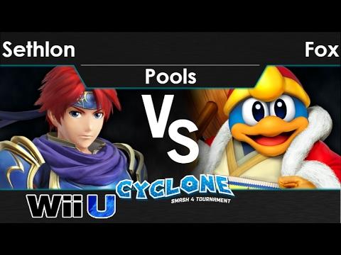 Cyclone 2 - FX TLOC   Sethlon (Roy) vs Fox (DDD) Pools - Smash 4