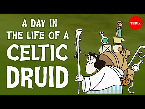 Video image: A day in the life of a Celtic Druid - Philip Freeman
