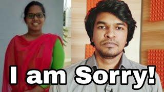I am Sorry | Jothi Durga | Madan Gowri | MG