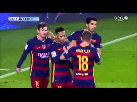 FC Barcelona vs Celta Vigo6 1All Goals and Highlights 21416Ray Hudson Commentary