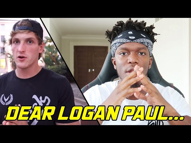 DEAR LOGAN PAUL...