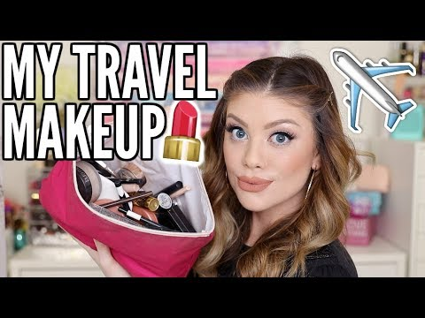 WHAT'S IN MY TRAVEL MAKEUP BAG?!