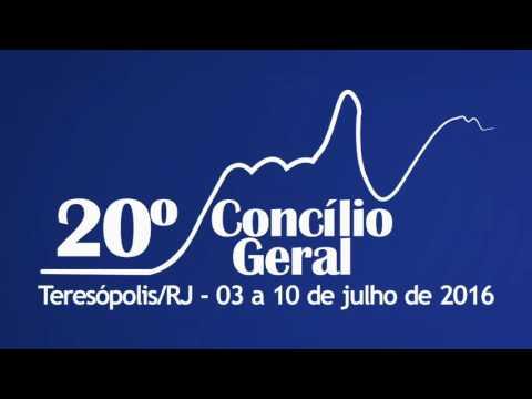 20º Concílio Geral da Igreja Metodista - 09-07-2016