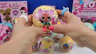 LOL Sürpriz Confetti Pop vs Lol Pets Challenge! Çiş Yapan Tüküren LOL Surprise Dolls Bidünya Oyuncak
