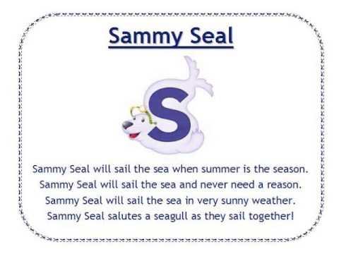Alphafriends: Sammy Seal