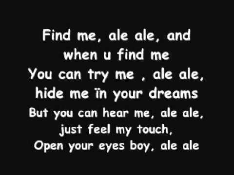 Alessia-Find me(ale,ale)