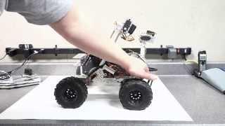 NOMAD Rover Robotics 4x4 Project RC Arm attachment