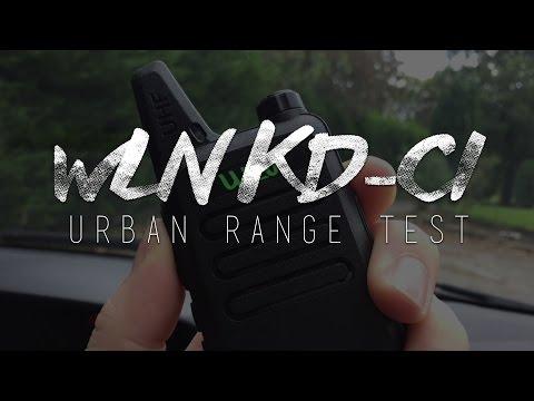 WLN KD-C1 Urban Range Test