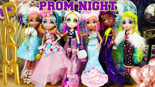 PROM NIGHT Hairmazing Girls Get Prom Makeover By OMG Dolls