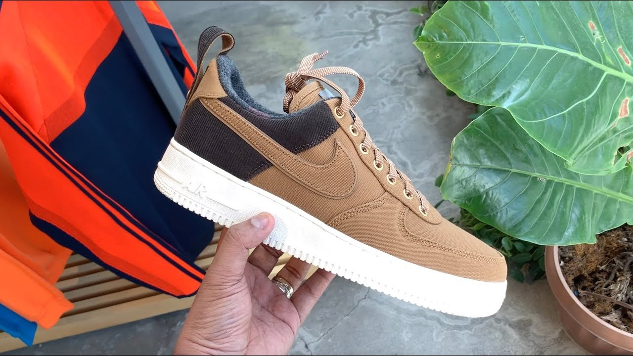 DON'T SLEEP ON THIS ONE: NIKE AIR FORCE 1 x CARHARTT WIP UNBOXING!!!