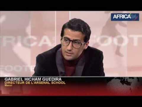 Gabriel Hicham Guedira Directeur Arsenal Maroc sur AFRICA 24