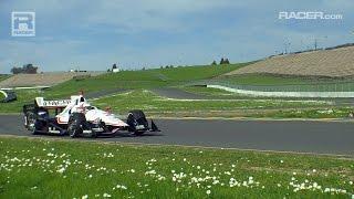 RACER: Sonoma IndyCar Test February 2016 B Roll