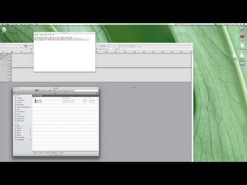 08 Creating Audio Times File Via Audacity