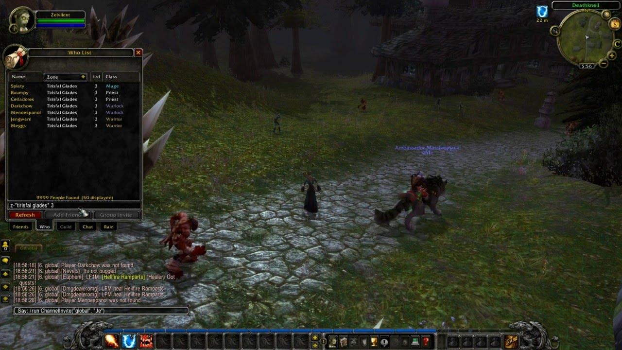 Warmane Lordaeron scam - fake player count