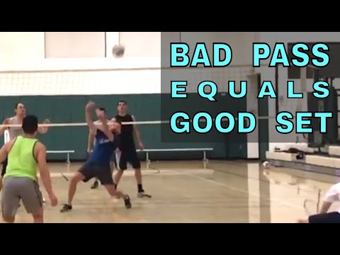 The WORSE THE PASS, the BETTER THE SET (Volleyball Bloopers)