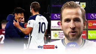 Harry Kane discusses his incredible partnership with Heung-Min Son after win over Burnley