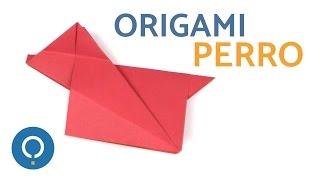 Cómo hacer un PERRO de Origami - Origami fácil