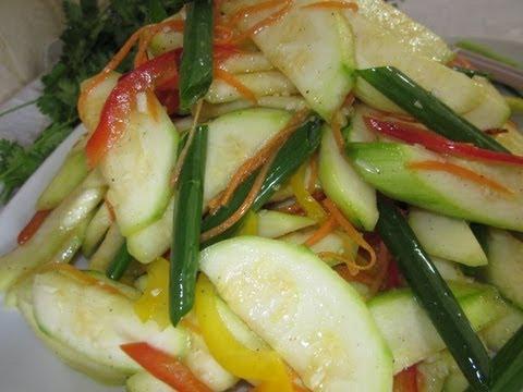 Рецепт - Кабачки по-корейски