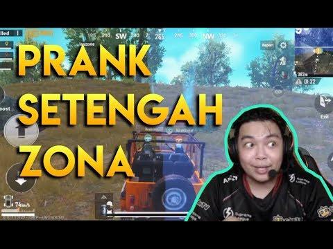 PRANK SETENGAH ZONA SAMPE NGAMUK - PUBG MOBILE INDONESIA