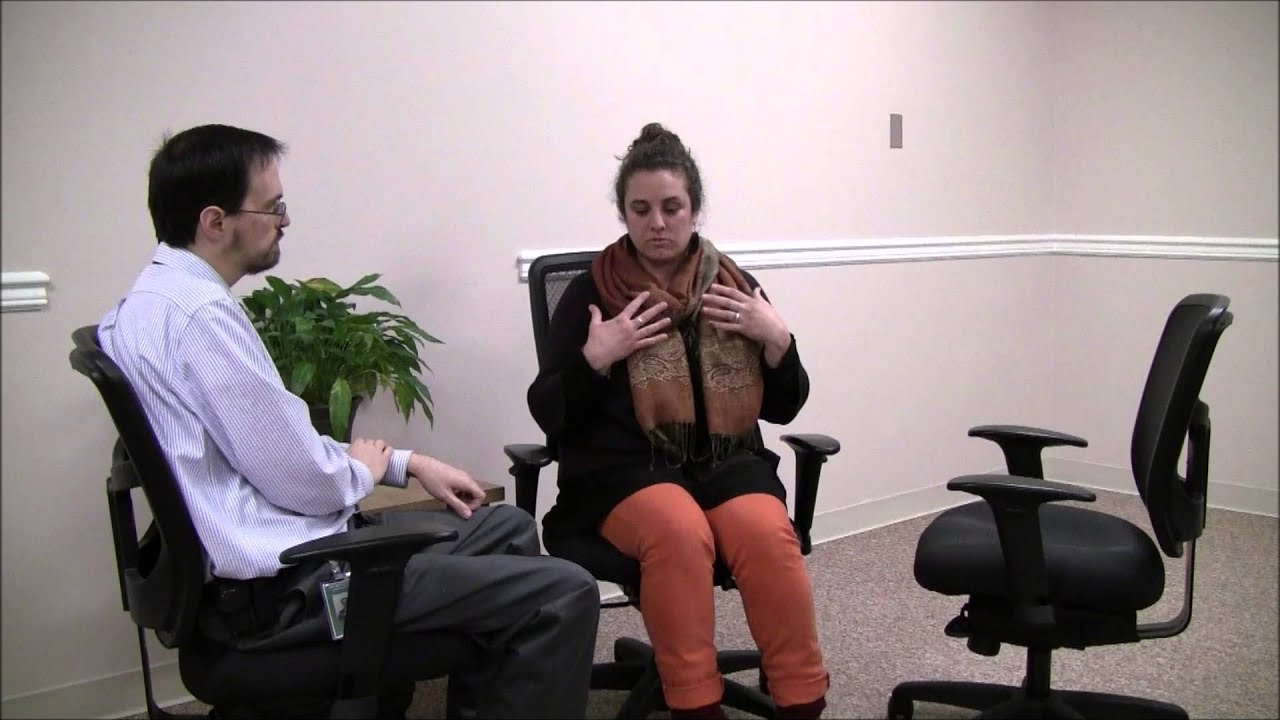 Gestalt Therapy Role-Play - Two-Chair Technique with Work ...