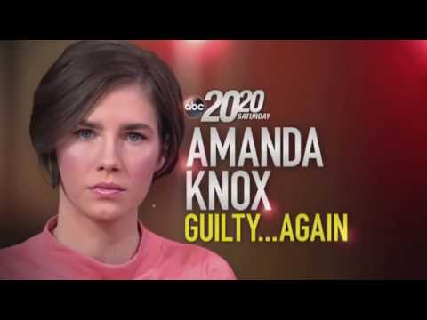 Dateline August 01, 2017 : Amanda Knox Found Guilty Again (HOT)