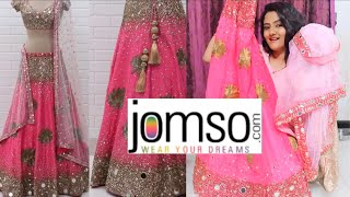 *Wedding & Navratra Special* Jomso Lehenga Try on, Unboxing & Review|Is it Worth ?? |Nikki