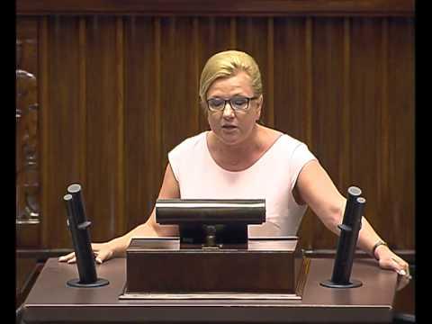 Wystąpienie poseł B. Kempy ws. wyboru Rzecznika Praw Obywatelskich