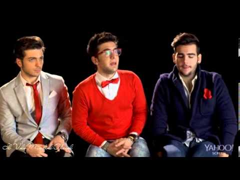Il Volo Sings Christmas Classics A Cappella - Yahoo Interview