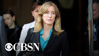 Felicity Huffman faces sentencing in college admissions scandal
