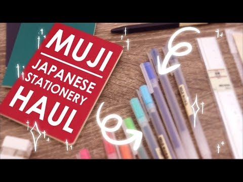 MUJI HAUL - Testing Japanese Stationery