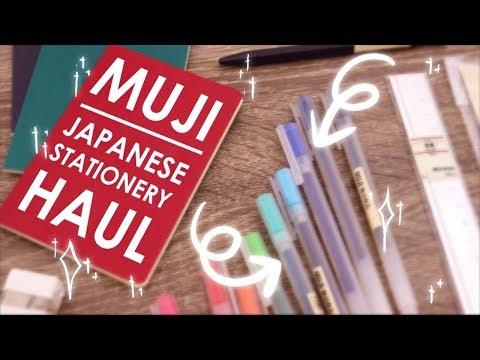 MUJI HAUL - Testing Japanese Stationery