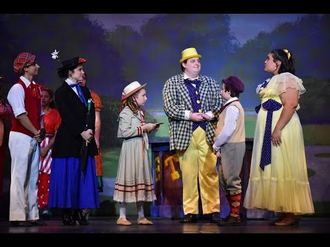 Danielle Jost as Jane Banks in Mary Poppins (FLCT - Fort Lauderdale Children's Theatre) Part  3
