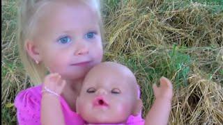 Кукла беби борн Катя ПРОПАЛА  КАТЯ Беби бон Игры для детей Коляска для кукол Игры с куклами