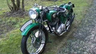 ARDIE RBU 350 erster Probelauf / vintage motorcycle first run