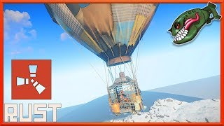 Rust What's Coming | Hot Air Balloon in Game, First Look on Progress #157 (Rust News & Updates)