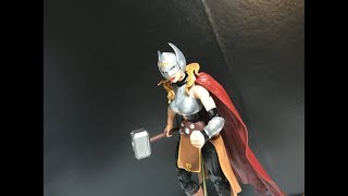 Review: Marvel Legends Thor Ragnarok Gladiator Hulk BAF Wave Jane Foster Lady Thor Action Figure