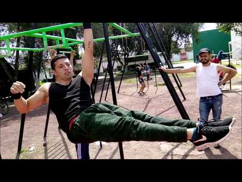 Street Workout Mexico - Jhostin Cornejo vs Richi Vazquez